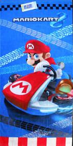 Super Mario 'Race to Win' Beach Towel