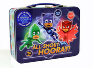 PJ Masks 'All Shout Hooray' Tin Lunch Box