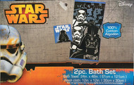 Star Wars 2-Piece Bath Set