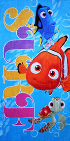 Finding Nemo 'Surf' Beach Towel