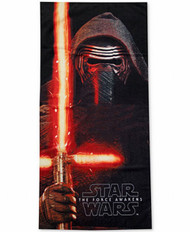 "Star Wars 'Kylo Ren' Beach Towel, 28"" by 50"""