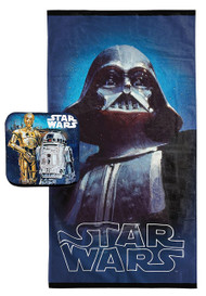 Star Wars Classic 'Darth Vader' 2-Piece Bath Set