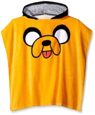 Adventure Time 'Jake the Dog' Hooded Poncho Bath Towel