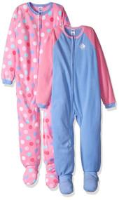 Gerber Girl's Cupcake Blanket Sleepers (2 Pack) - Size 4T