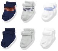 Gerber Baby Boys 6-Pack Variety Socks - Sports