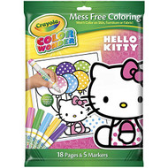 Crayola Color Wonder Hello Kitty Mess-Free Markers