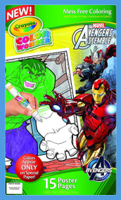 Crayola Color Wonder Poster Pages: Avengers