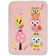Bananafish Studio 'Sweet Owl, High Pile' Blanket