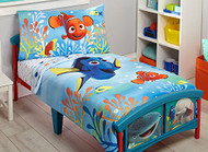 Disney/Pixar Finding Dory 4-Piece Toddler Bedding Set