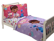 Doc McStuffins 4-Piece Toddler Bedding Set