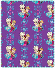 Frozen 'Anna & Elsa' Travel Fleece Throw