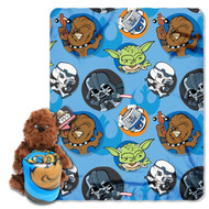 Star Wars 'Chewie' Character Pillow and Throw Set
