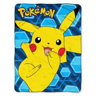 Pokémon 'Glitch Pikachu' Super Plush Throw