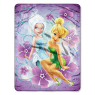 Disney Fairies 'Pixie Pals' Micro Raschel Throw