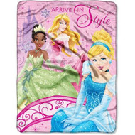 Disney Princess 'Royal Arrival' Micro Raschel Throw