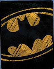 Batman 'Raw Shield' Silk Touch Throw