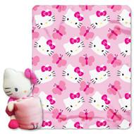 Hello Kitty 'Kitty Butterfly' Throw & Pillow Buddy Set