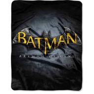Batman Arkham Origins 'Hard Shield' Silky Soft Throw