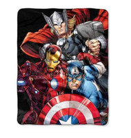 Avengers Assemble 'Agents of Shield' Silky Soft Throw