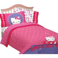 Hello Kitty 'Kitty & Me' Twin/Full Bedding Comforter