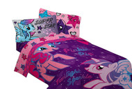 My Little Pony 'The Stars are Out' Twin Sheet Set