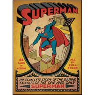 RoomMates Superman Peel and Stick Comic Book Cover