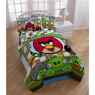 Angry Birds Full Size Comforter Set