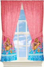 Disney Tangled Rapunzel True Dreams Made Curtain Drapes