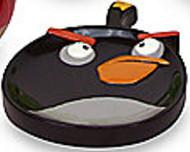 "Angry Birds ""Burst"" Black Bird Soap Dish"