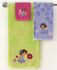 Dora the Explorer 'Picnic' 3pc. Towels and Washcloth Set