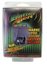 Battery Alert Warning Device