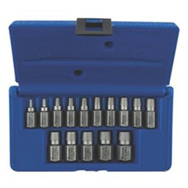15 Piece Multi Spline Screw
