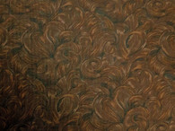 Santa's Beard, 1817-14 by Jinny Beyer for RJR, brown with darker brown swirls, like santa's beard, 100% premium cotton, 42