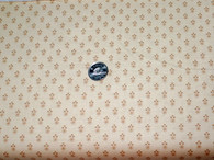 """8611 Colour LN, Clotted Creams & Caramels by Di Ford Hall for Andover Fabrics, butter yellow background with tiny flower design. 100% good quality quilt cotton, 42"""" wide"""