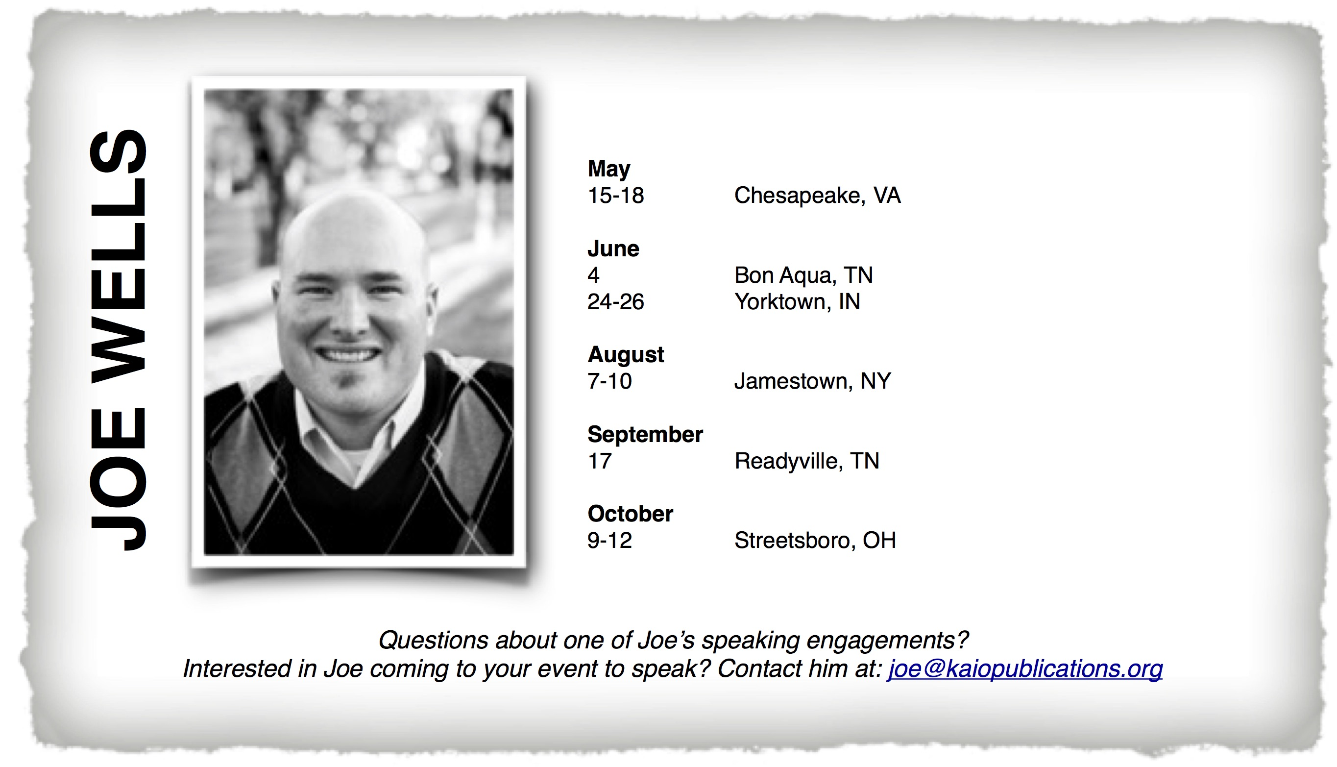 kaio-publications-speaking-schedule-for-joe-wells.jpg