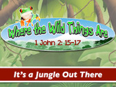 Join Joe as he interacts with his teenage audience and explains the harsh reality of the jungle.