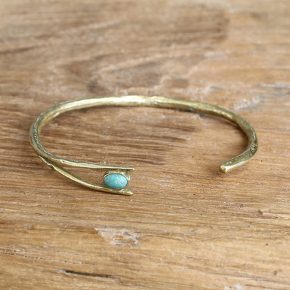 Brass/Turquoise