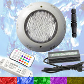 Swimming Pool LED Light RGB + Controller + Power Supply - Multi Colours - Quality Light