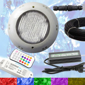 Swimming Pool LED Light RGB + Controller + Power Supply + 10m Cable - Multi Colours - Quality Light