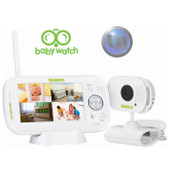 "UNIDEN 4.3"" LCD Baby Watch Wireless Monitor - 1 Camera - ""Walkie Talkie"" Function - 4 Camera Capable"