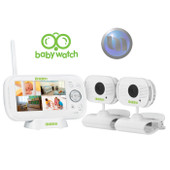 "UNIDEN 4.3"" LCD Baby Watch Wireless Monitor - 2 Cameras - Walkie Talkie Function - Night Light"