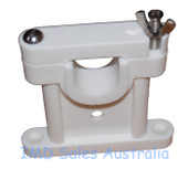 Marine Antenna Insulated Stand-Off Upper Bracket White Nylon OPEK