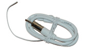 AM/FM Dipole Antenna Stealth White 1.3m
