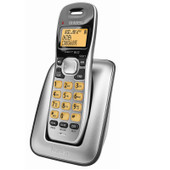 UNIDEN Dect 6.0 Digital Technology Cordless Phone System - Black - Up to 10 Hours Talk Time
