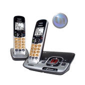UNIDEN Premium Dect 6.0 & Bluetooth Cordless Phone System With Extra Handset - 2 Handsets Included