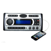 Marine Boat Stereo Flush Design DVD/MP3/WMA/USB/CD/Radio Connect to Media