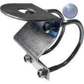 AXIS Bull Bar Mount - Compact Safe Mounting - 2 U Bolts - Bright Zinc Construction