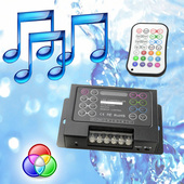 Pool Light Music RGB Controller - Changes Colours/Patterns to music