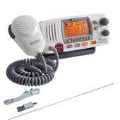 Cobra Marine VHF Radio 25W with Integrated GPS + S/Steel Antenna