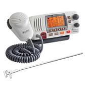 Cobra Marine VHF Radio 25W Integrated GPS + Fibreglass Antenna
